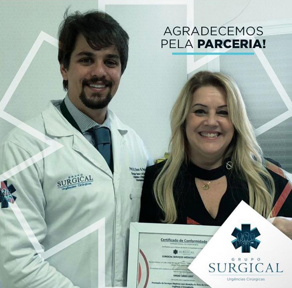 Grupo Surgical conquista Certificação ISO 9001:2015 e ISO 45001 Segurança e Sáude.