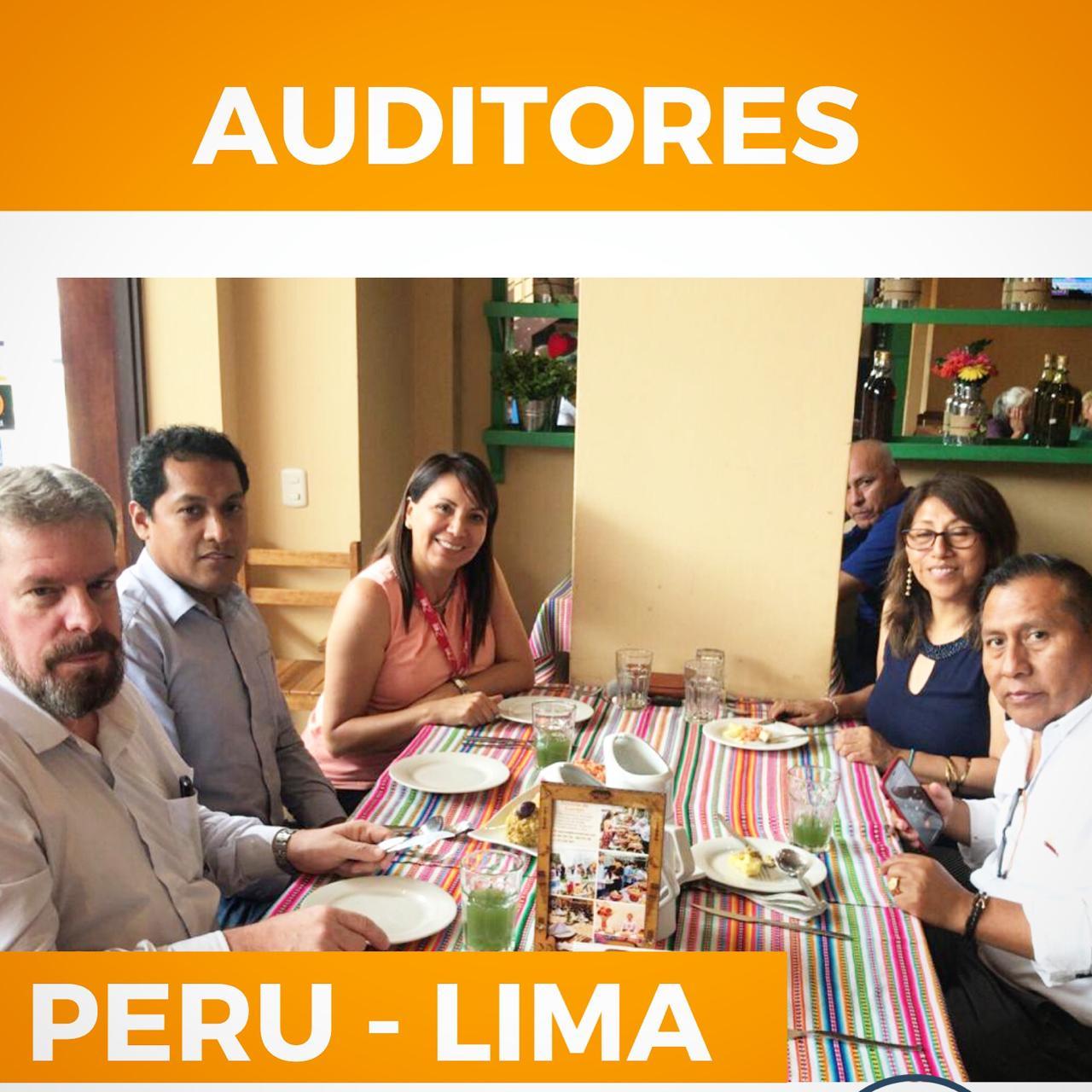Enquanto isso, nossos Auditores diretamente do Peru-Lima